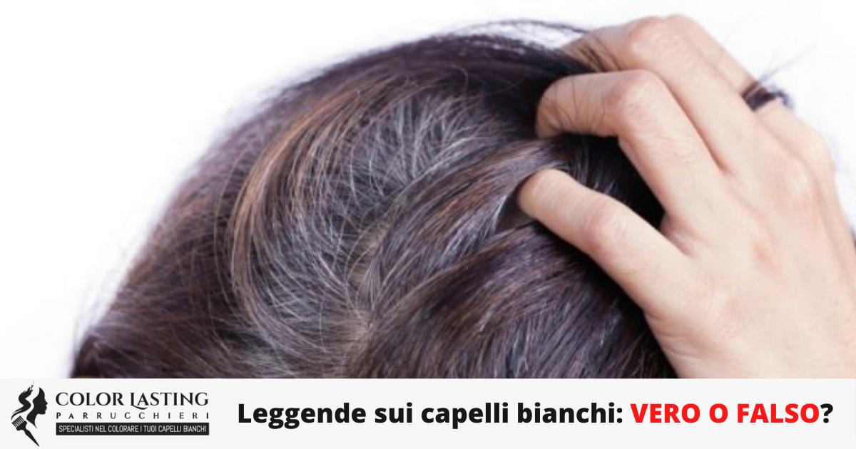 Leggende sui capelli bianchi: VERO O FALSO?