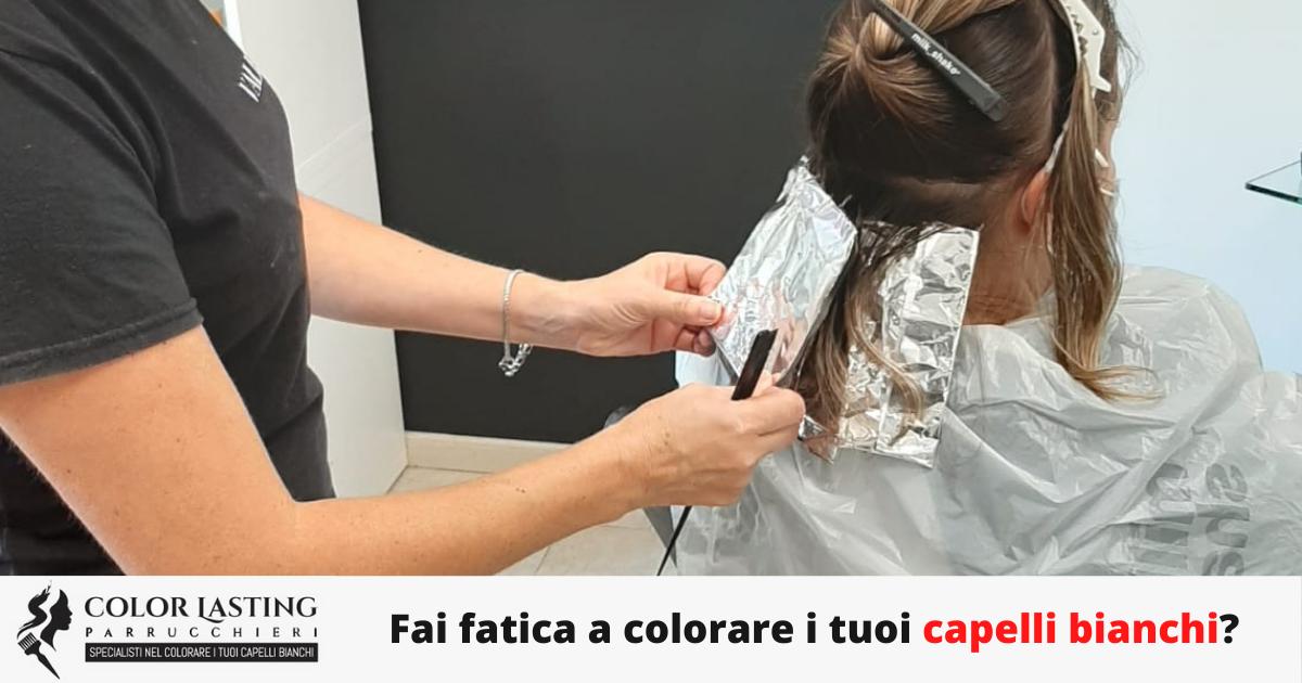 Fai fatica a colorare i tuoi capelli bianchi?