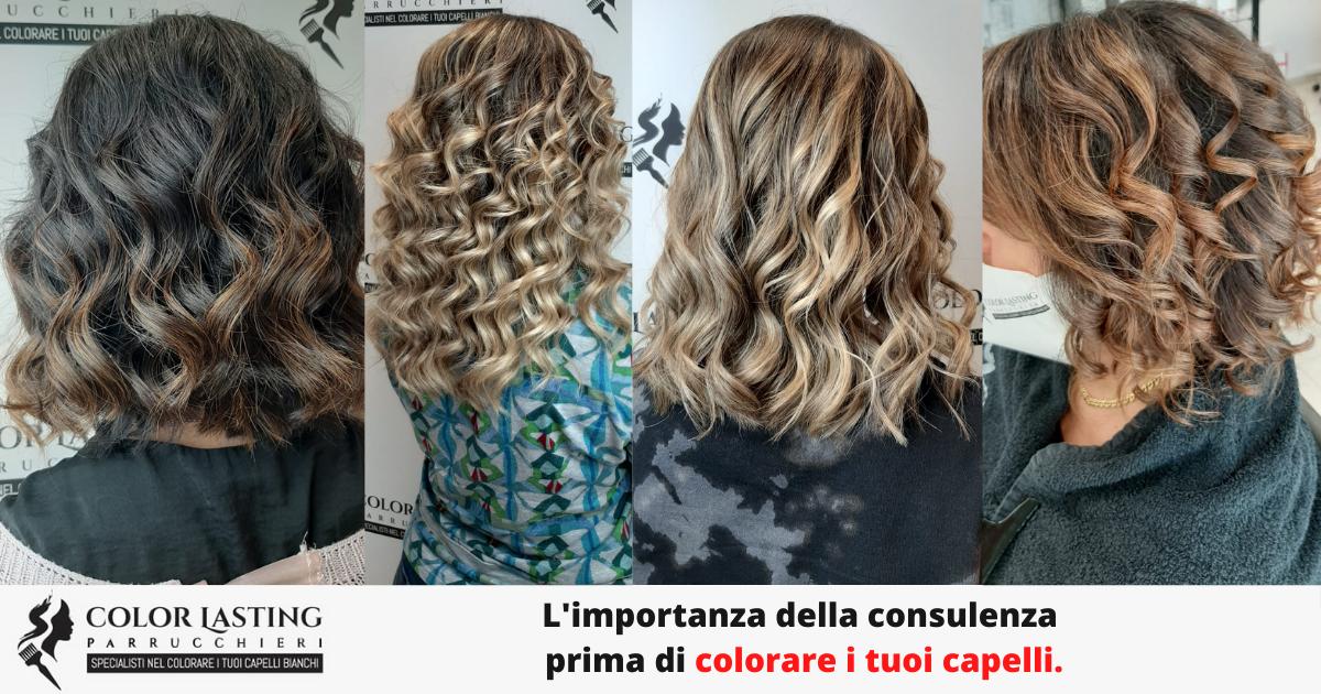 L'importanza della consulenza prima di colorare i tuoi capelli.